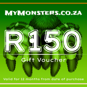 MyMonsters - Tarantula Gift Voucher