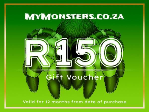 MyMonsters - Tarantula Gift Voucher