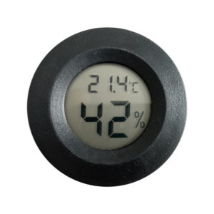 2 in 1 Thermometer & Hygrometer, measures Temperature and Humidity. No external probe.