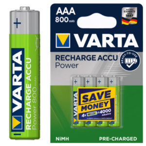 Varta AAA 1.2V Rechargeable Battery