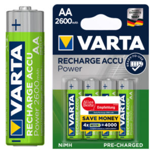 Varta AA 1.2V Rechargeable Battery